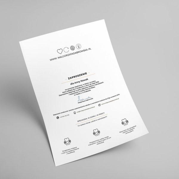 Bon prezentowy - zaproszenie na warsztaty: Spełniona - Warsztaty dla Kobiet